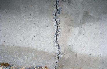 cracks in exterior