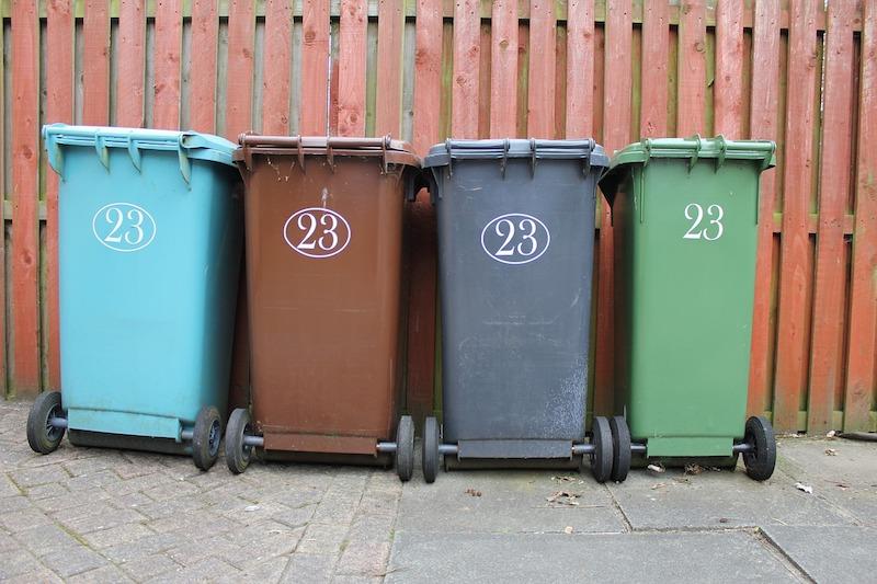 Keep trash away from house